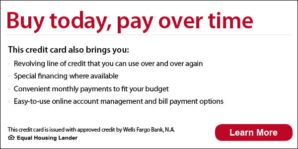 Buy today, pay over time.