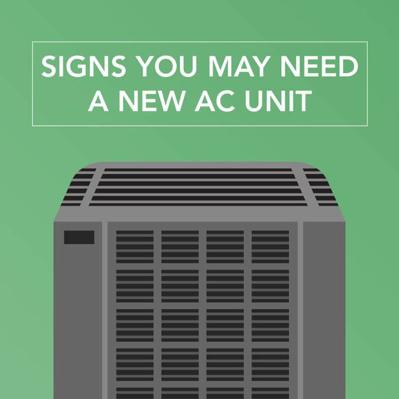 Signs for New AC